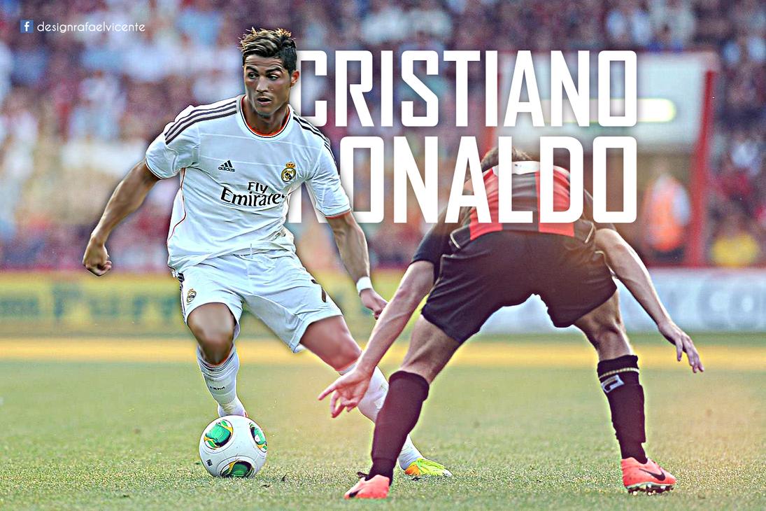 Cristiano Ronaldo 2013 2014 Wallpaper By RafaelVicenteDesigns