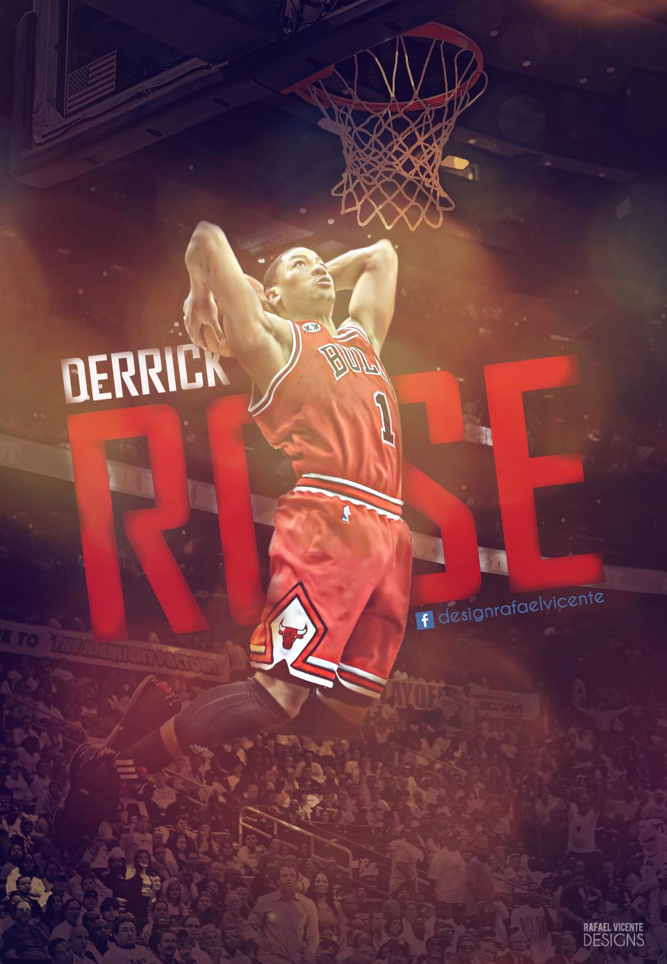 derrick rose wallpaper dunk - photo #13