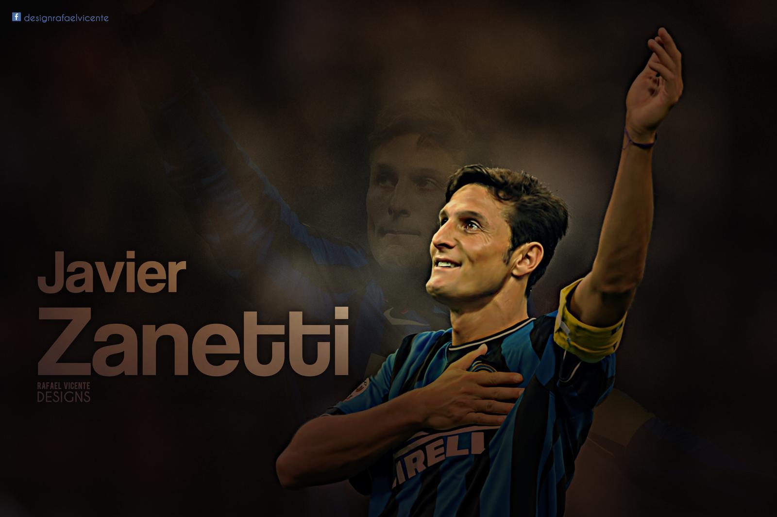 Javier Zanetti wallpaper by RafaelVicenteDesigns on DeviantArt