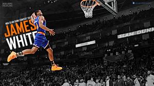James White NBA Slam Dunk Contest wallpaper