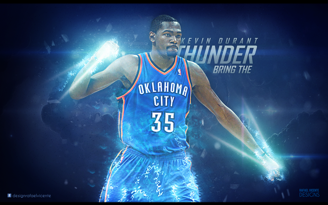 BRING THE THUNDER I Kevin Durant wallpaper by ...