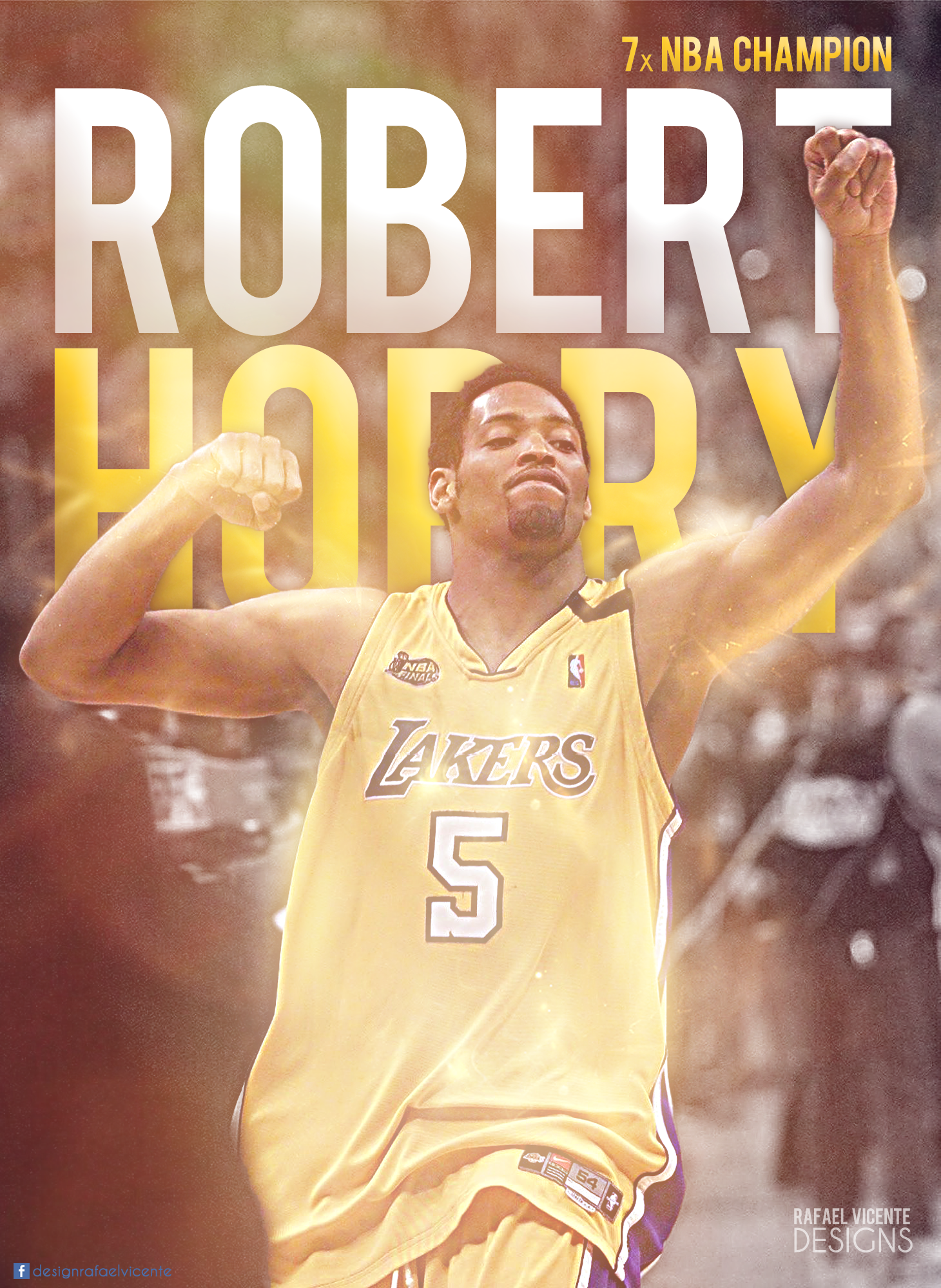 Robert Horry Lakers by RafaelVicenteDesigns on DeviantArt