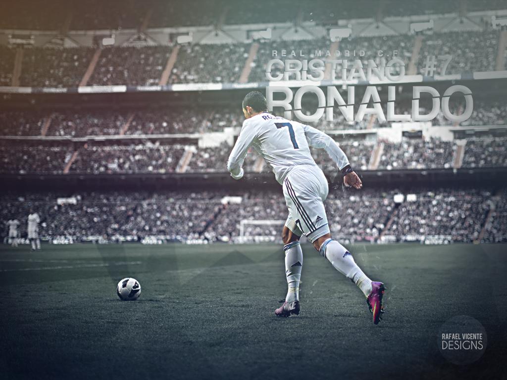 Cristiano Ronaldo by RafaelVicenteDesigns