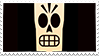 Grim Fandango stamp: Manny Calavera by RussianRatigan