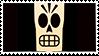 Grim Fandango stamp: Manny Calavera by RussianRatigan