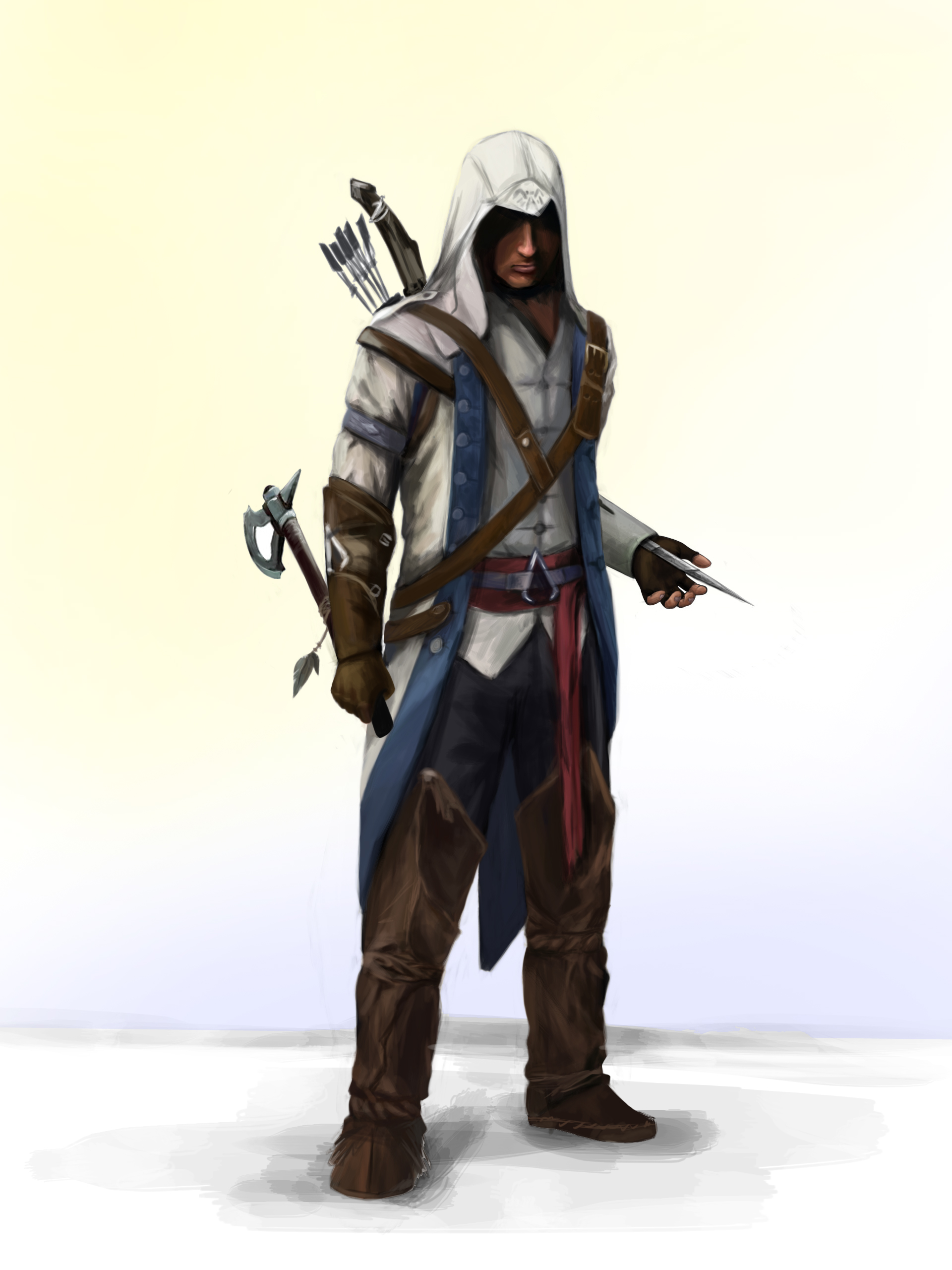 assassins creed 3 connor by fedota on deviantart