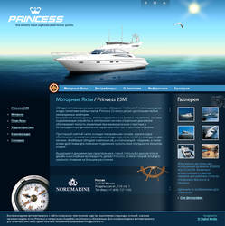 Princess Yachts by bathellfire