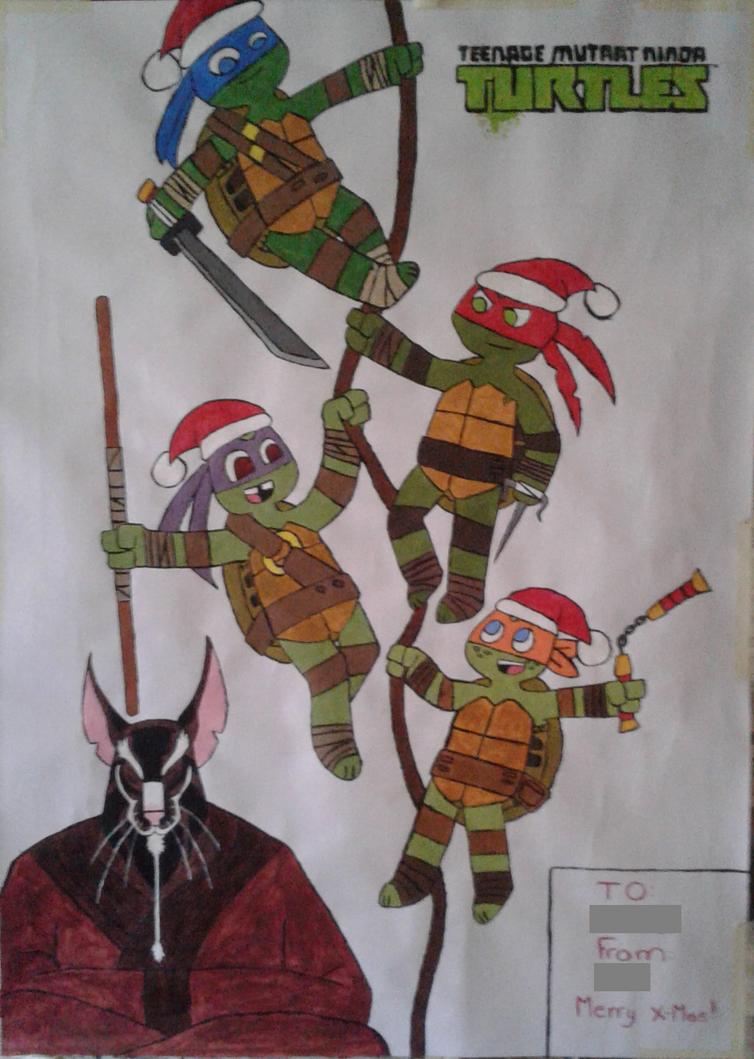 Christmas Poster! by NeonGreenVirus