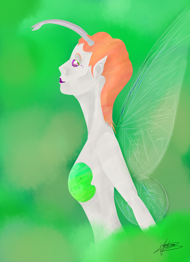 Forest Fairy by Nizcae