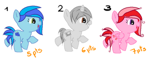 Pony Adoptables #1