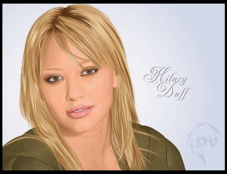 Hilary Duff Vector