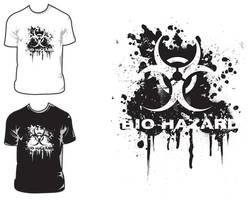 Bio Hazard t-shirt by DesertViper