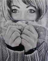 Charcoal Portrait by DesertViper