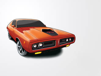 1971 Dodge Charger by DesertViper