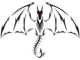 Dragon Tattoo by DesertViper
