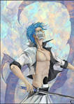 Grimmjow for Lan by canaury