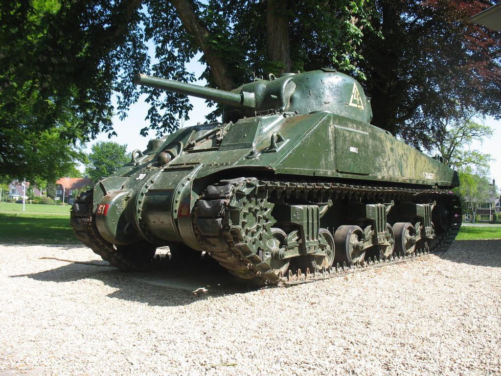 M4 Sherman by SittingDucks