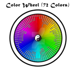 The Color Wheel- 72 colors
