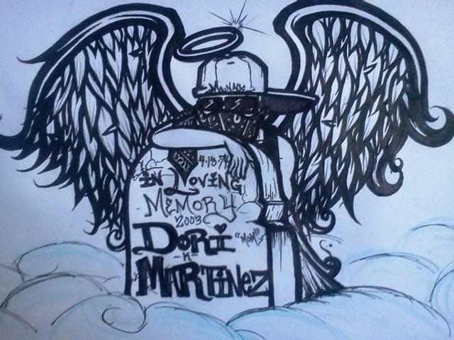 thug angel by therealmenace on deviantart. Black Bedroom Furniture Sets. Home Design Ideas
