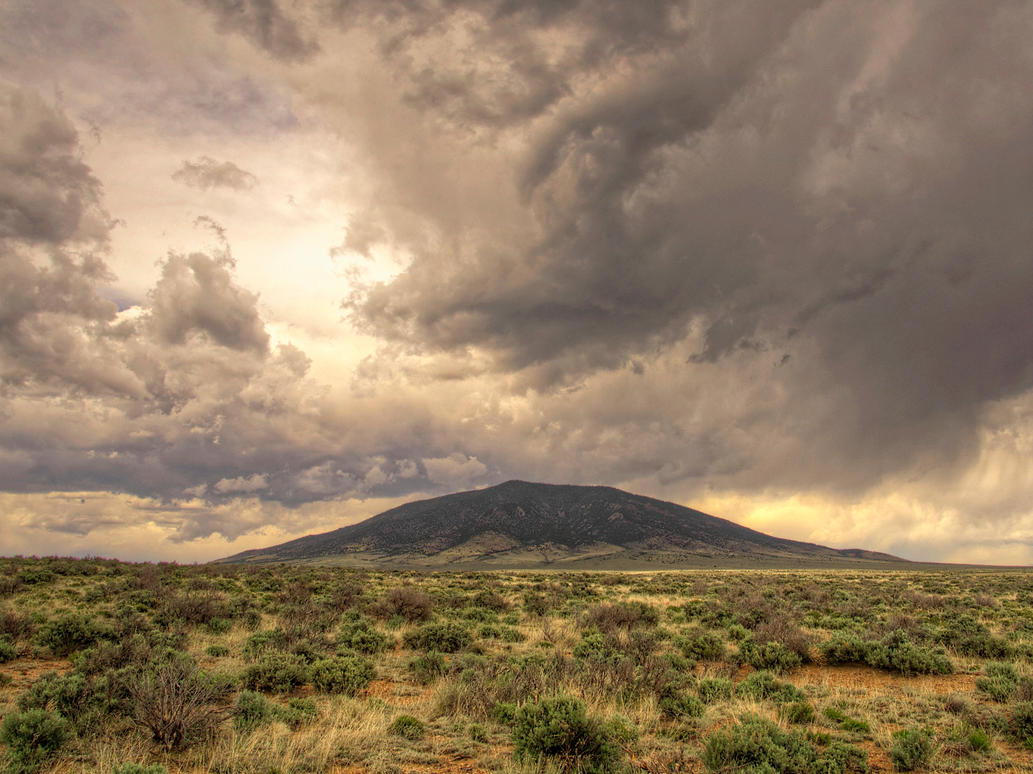 Ute Mountain by Vermontster