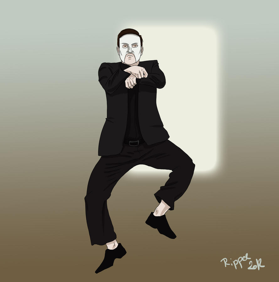 Gangnam style Erik by RipperBlackstaff