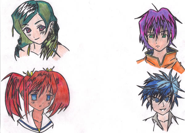 Photo of Anime Hairstyles Drawing Picture of Anime Hairstyles Drawing