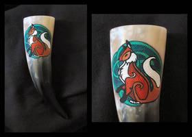 Drinking Horn Fox
