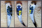 Drinking horn Foxemblem by cornum