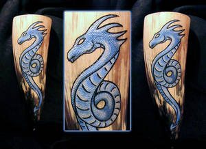 Drinking Horn Sea Serpent