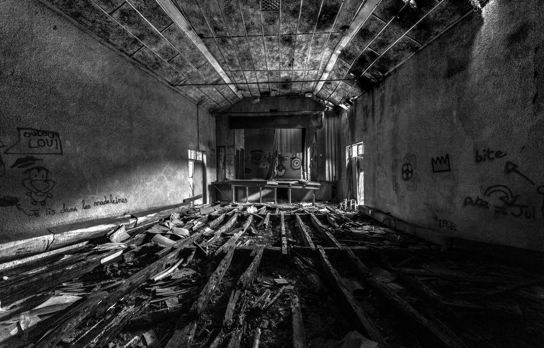 Old movie theater by YgsenddPhoto