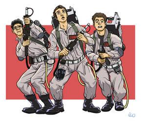 Ghostbusters - practice sketch by InfinityWave