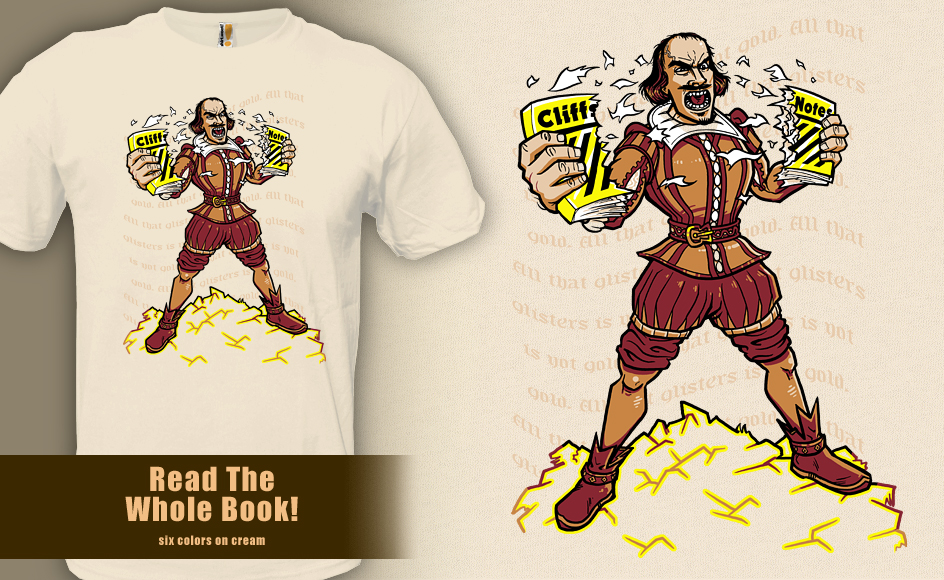 Read The Whole Book - t-shirt by InfinityWave