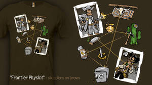 Frontier Physics - t-shirt