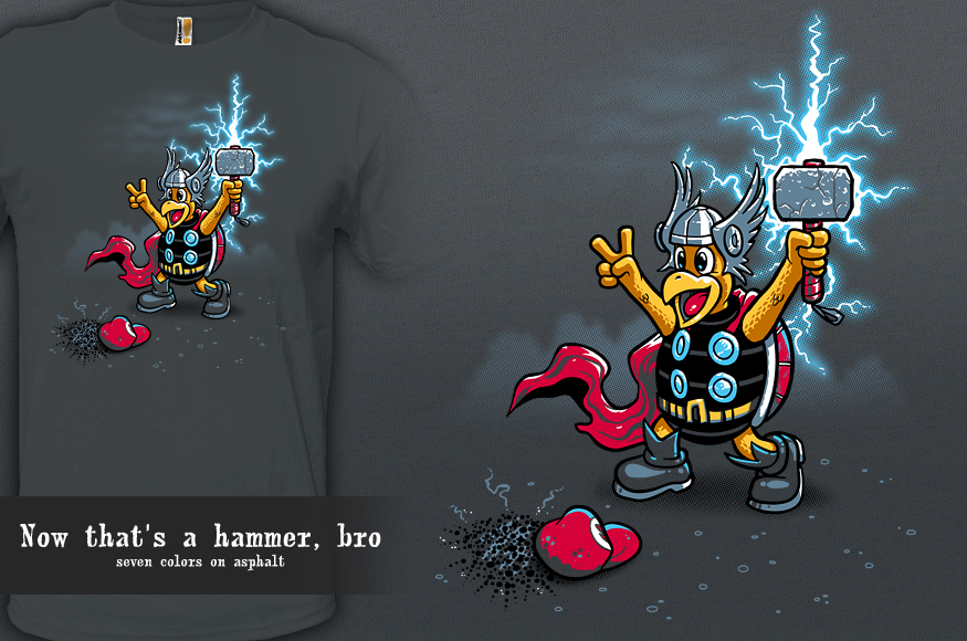 Now that's a hammer, bro by InfinityWave