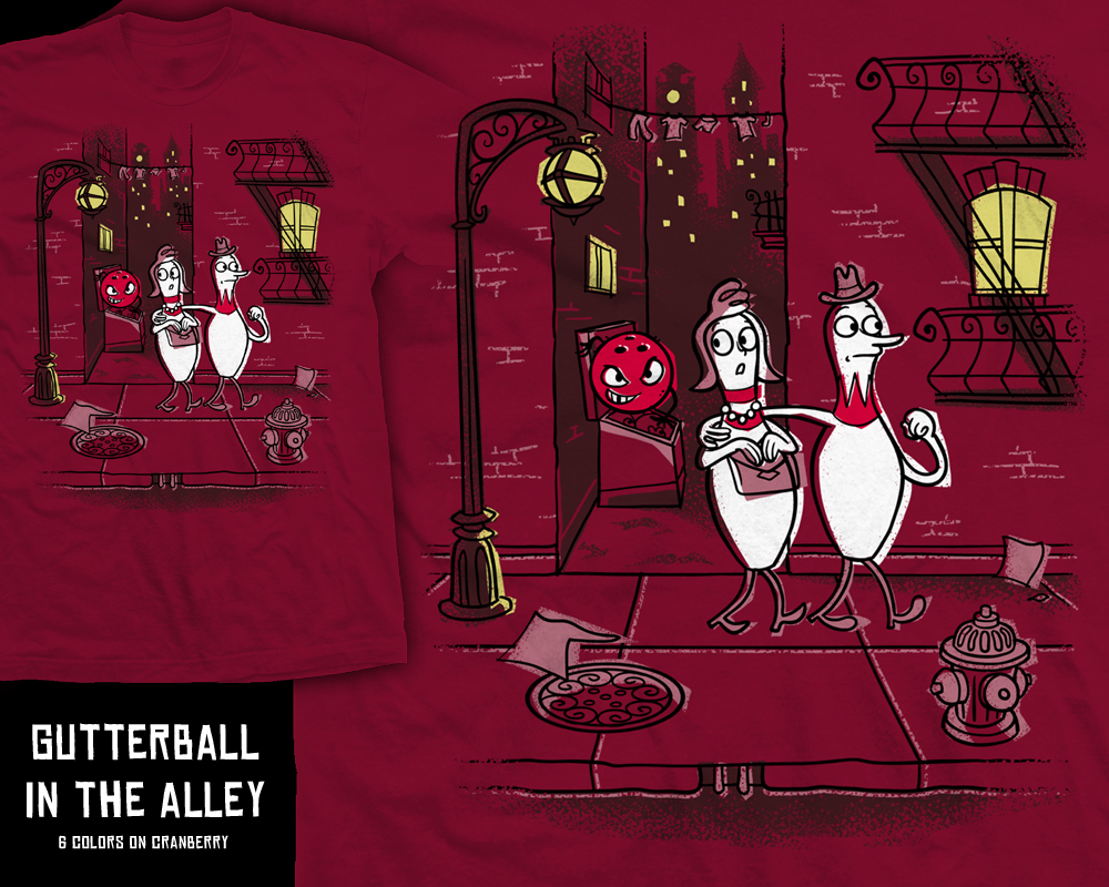Gutterball in the Alley by InfinityWave