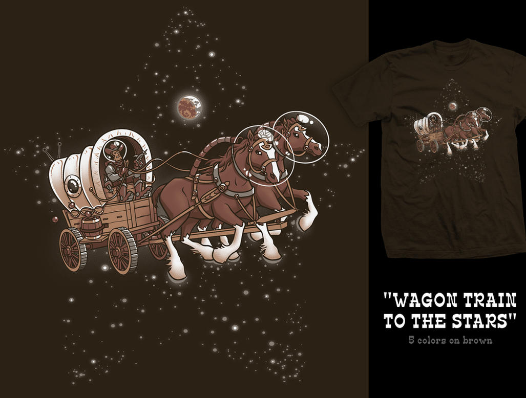 Wagon Train to the stars 2.0 by InfinityWave