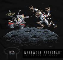 Werewolf Astronaut - tee