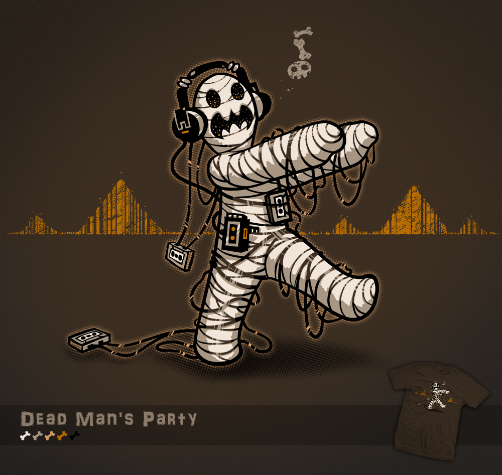 Dead Mans Party - t-shirt by InfinityWave