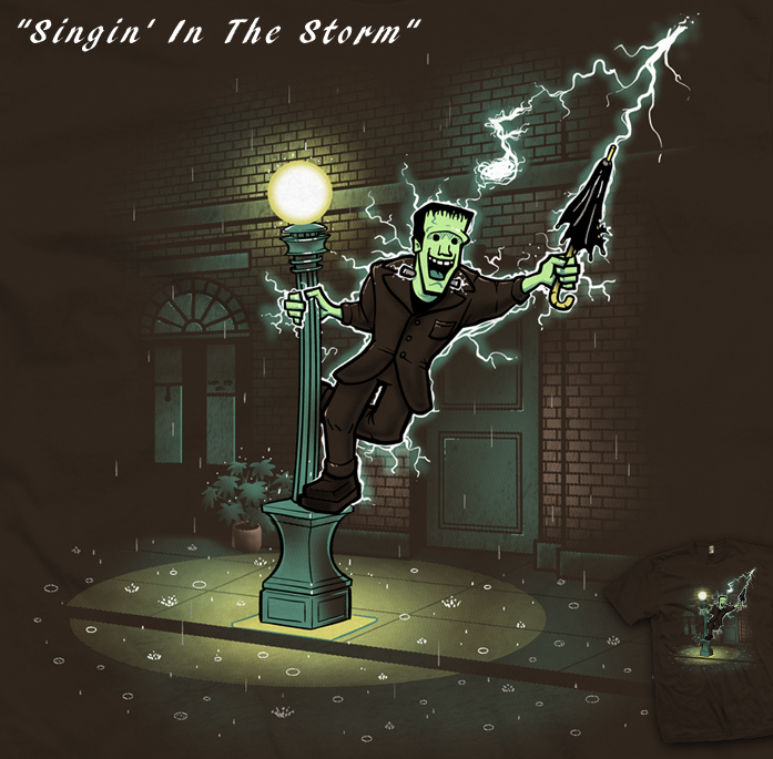 Singin' In The Storm - tee by InfinityWave
