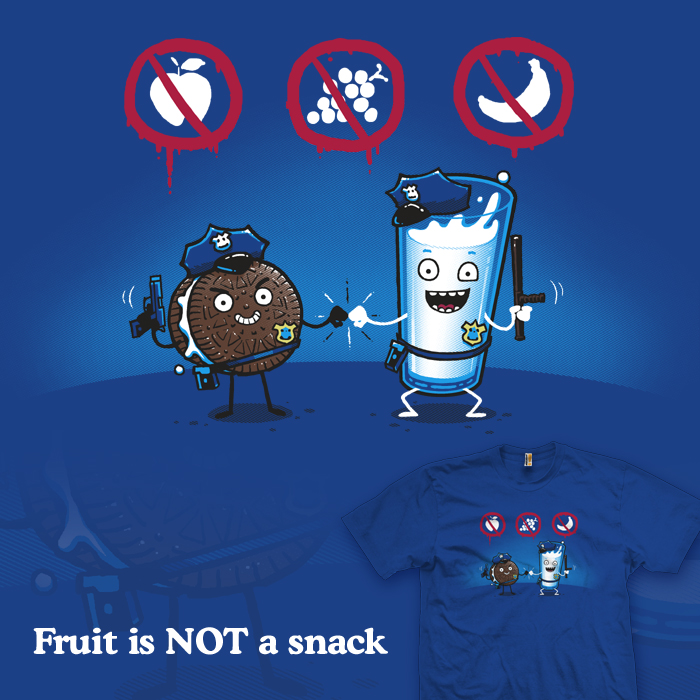 Fruit is NOT a snack