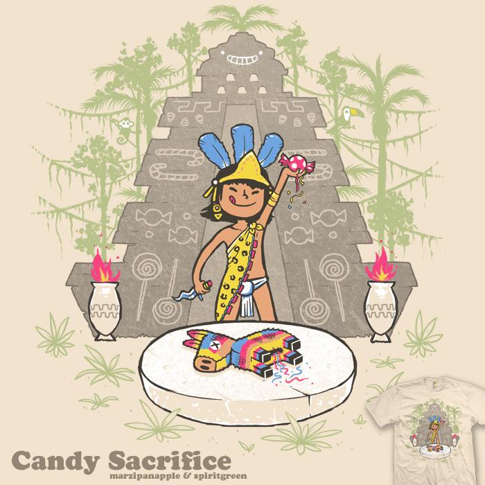 Candy Sacrifice - tee by InfinityWave