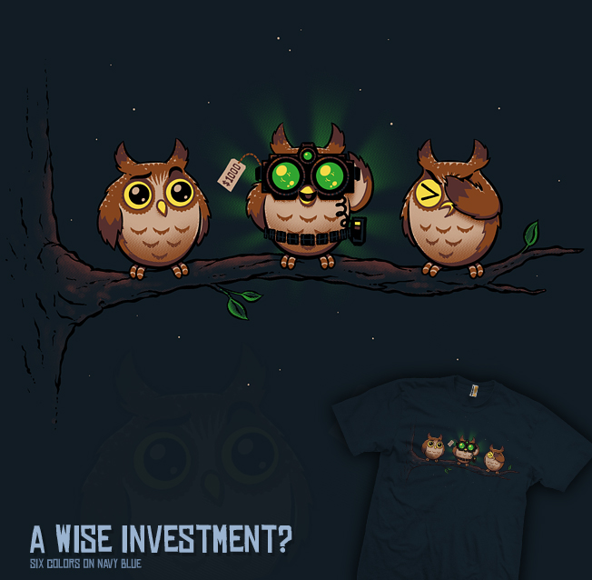 A Wise Investment? - tee by InfinityWave