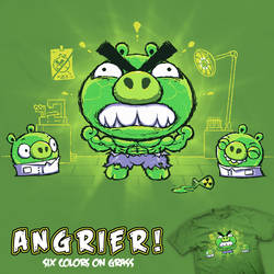 Angrier - t-shirt by InfinityWave