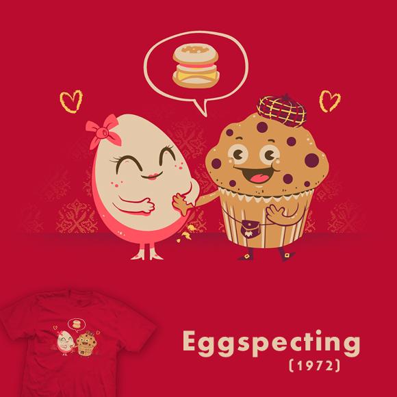 Eggspecting - tee by InfinityWave