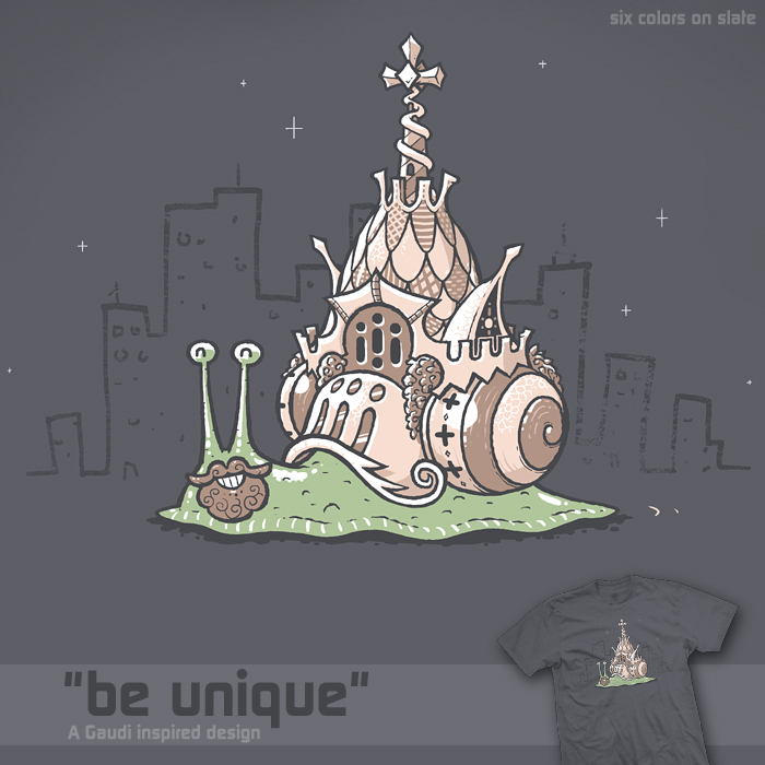 Be unique - tee by InfinityWave