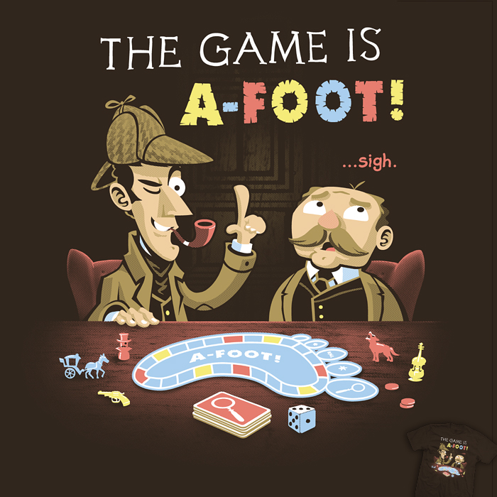 The Game Is A-foot - tee by InfinityWave