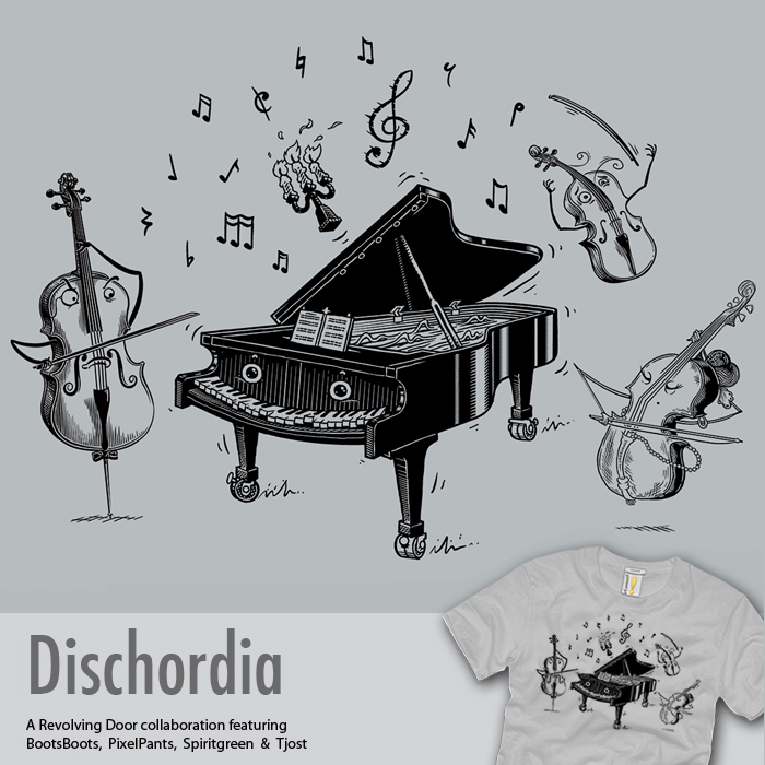 Dischordia - collaboration tee by InfinityWave