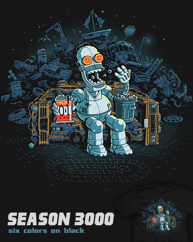 Season 3000 - tee by InfinityWave