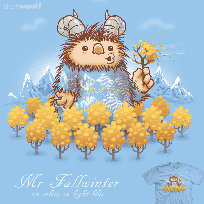 Mr Fallwinter - tee by InfinityWave