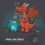 After the Party - tee